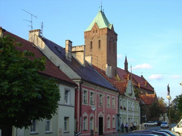 Rynek i Kościół ewangelicki