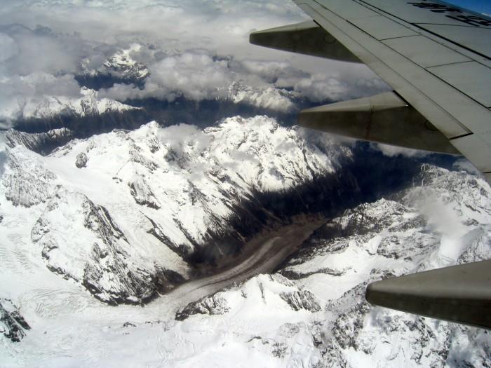 Spływający lodowiec
