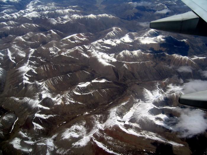 Lot z Lhasy do Zhongdian