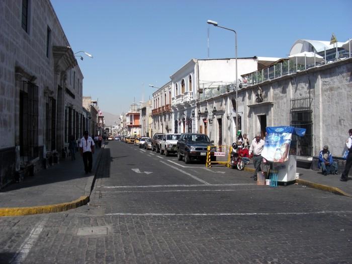 Ulice miasta Arequipa