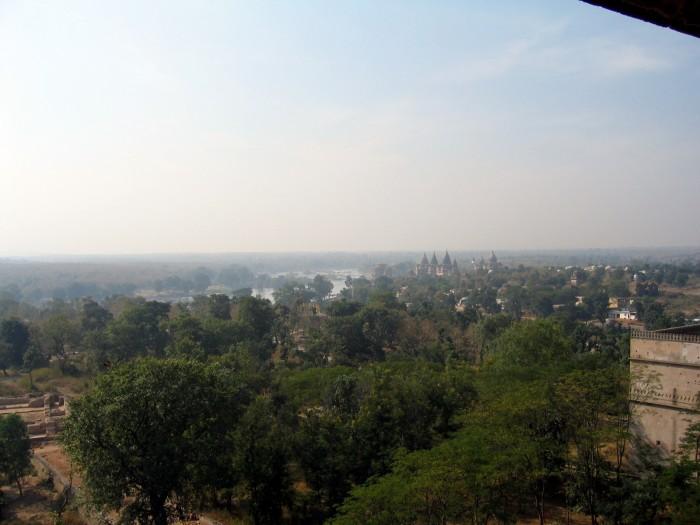 Widoki z pałacu Dżahangira