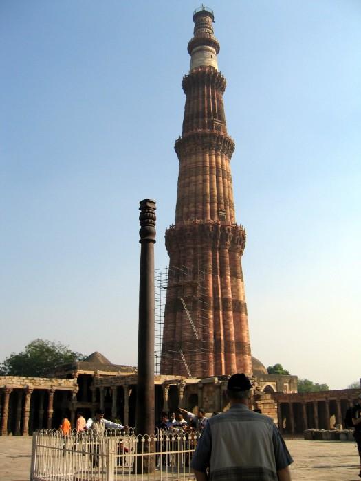 Kutab Minar - wieża zwycięstwa z 1193r