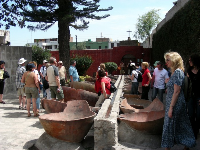 Klasztor Św. Katarzyny, wanny do kąpieli