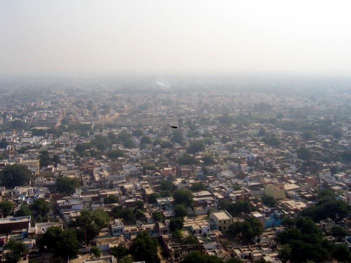 Widok z Fortecy Man Singha