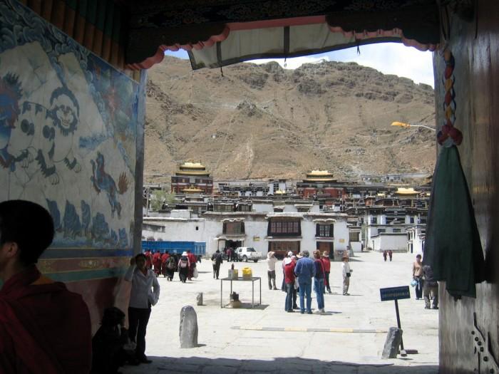 Klasztor Tashilhumpo - rezydencja panczenlamy