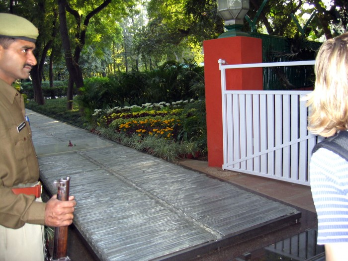 Muzeum - Dom Indiry Gandhi - tu zginęła