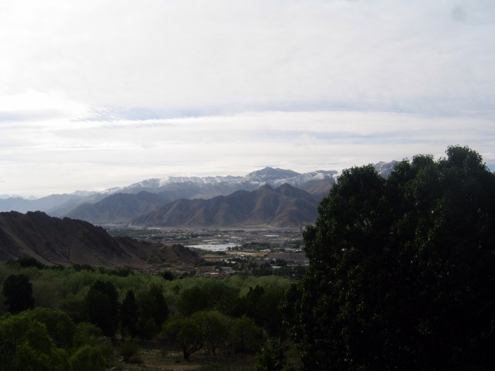 Widok z klasztoru Drepung