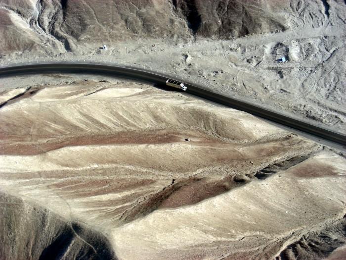 Nad górami w Nazca