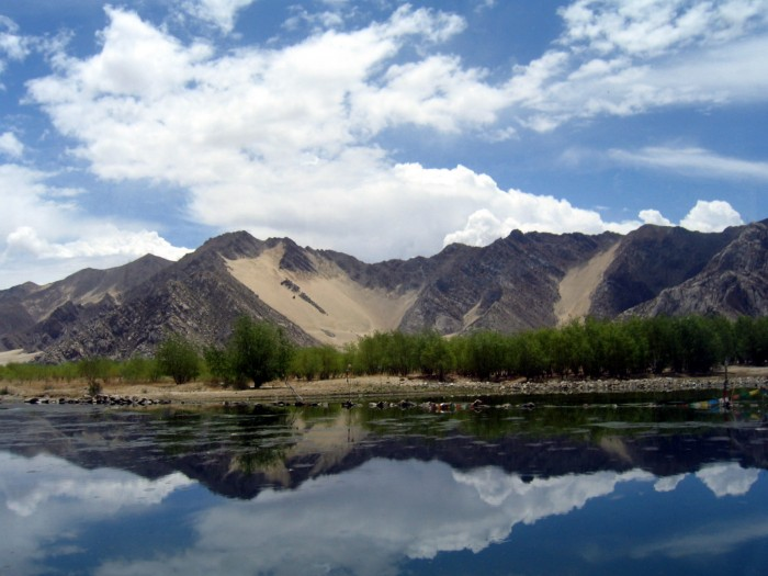 Droga z Shigatse do Lhasy