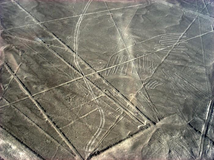 Linie na płaskowyżu Nazca