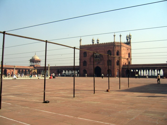 Meczet Dżami Masdżid największy w Indiach z 1644r