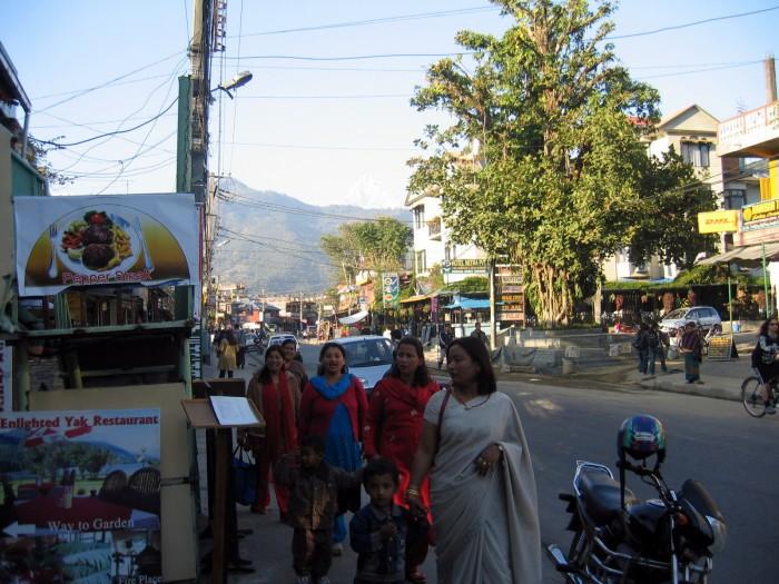 Widoczki z Pokhary