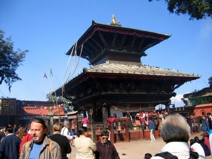Swiątynia gdzie składa się krwawe ofiary