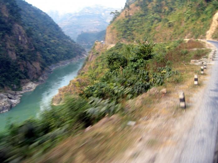 Droga z Chitwan Park do Pokhary