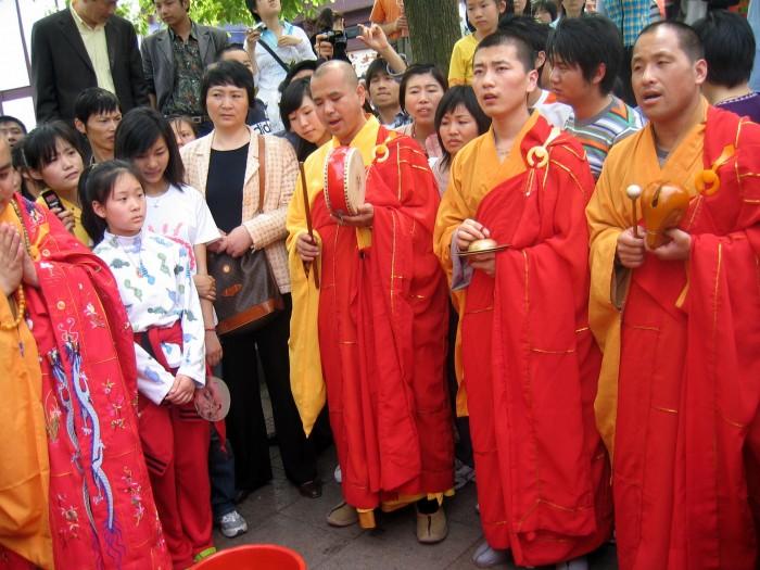 Modlitwa Mnichów nad miską raków