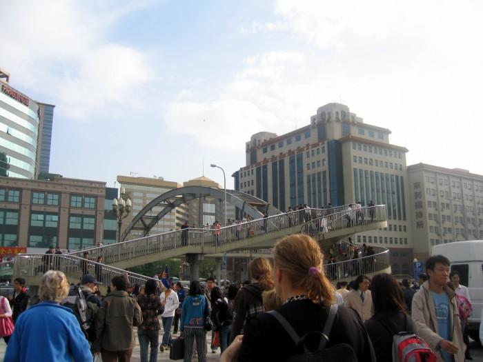 Dworzec kolejowy w Pekinie