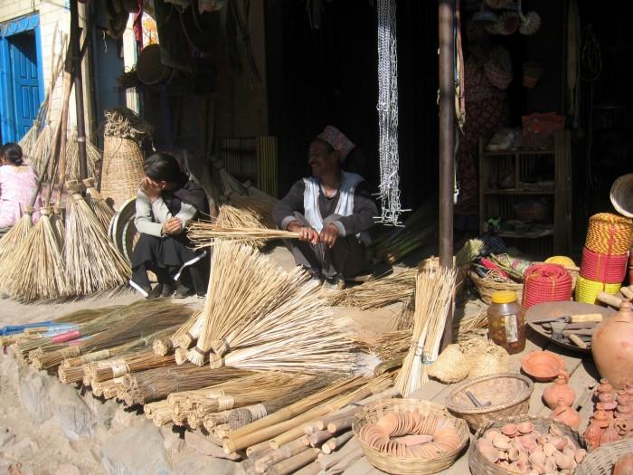 Uliczki w Lalitpurze