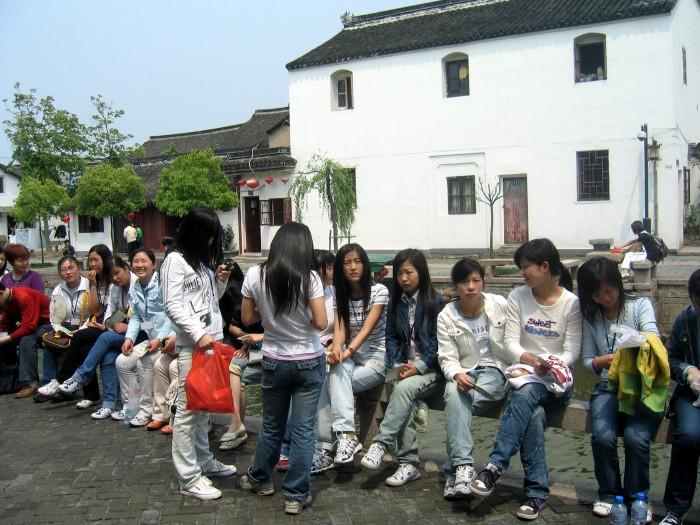 Młodzież na wycieczce