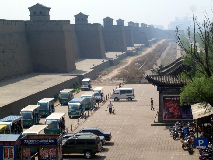 Widok z murów obronnych