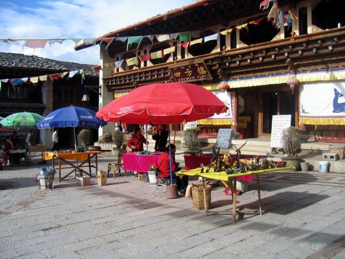 Stare Miasto w Zhongdian