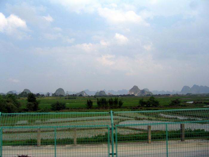 Droga z Guilin do Pingan
