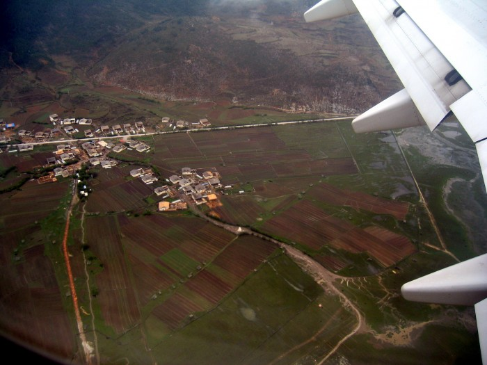 Nad doliną Zhongdian