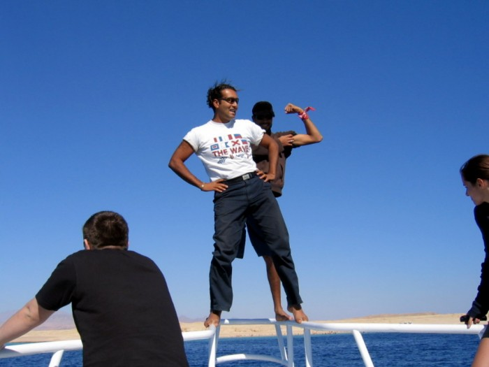 Wycieczka statkiem po Morzu Czerwonym