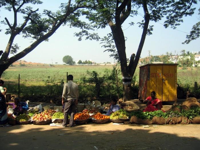 Bazar w sąsiedniej wiosce
