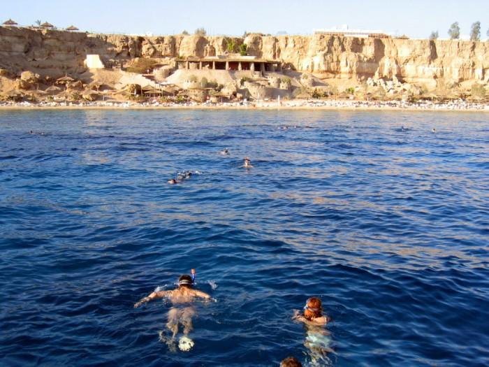 Pływanie nad rafą koralową