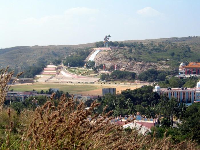 Widoki na Puttaparthi