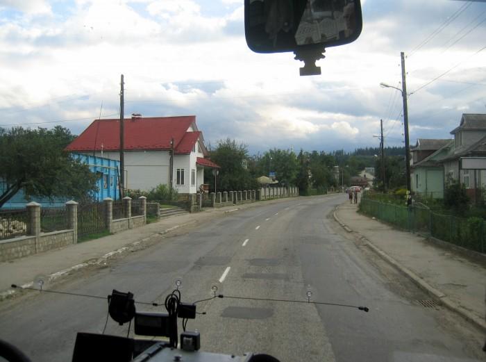 Stanisławów_Jaremcza - droga