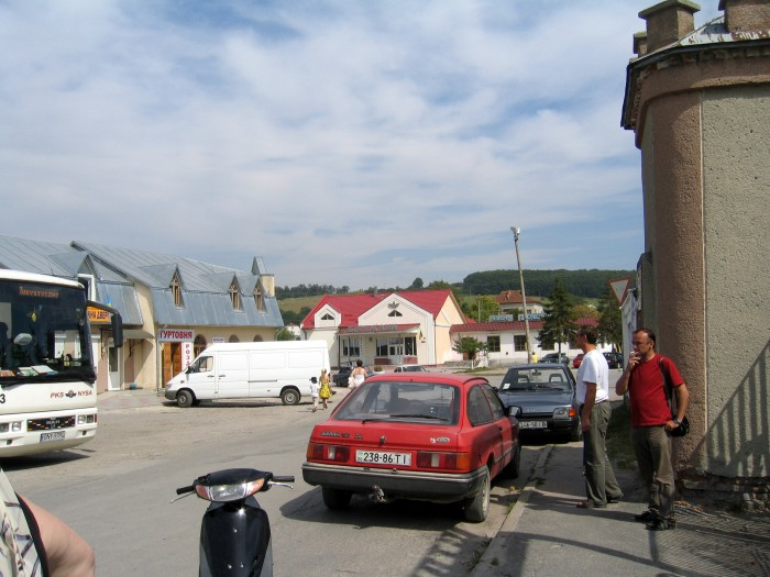 Widoki miasteczka