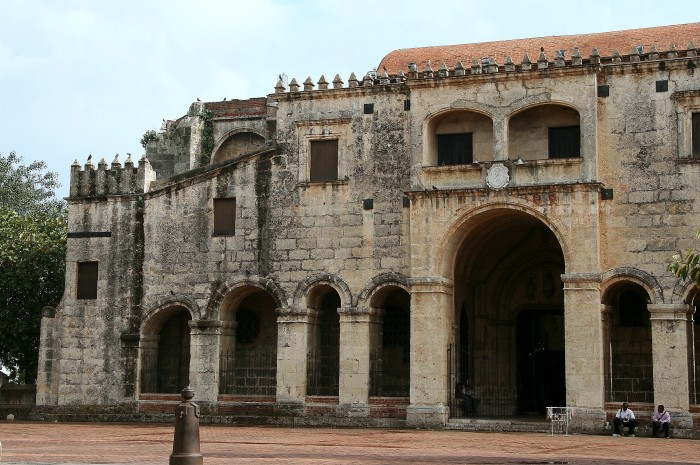 Najstarszy kościół w Santo Domingo, jeszcze z czasów kolonialnych...