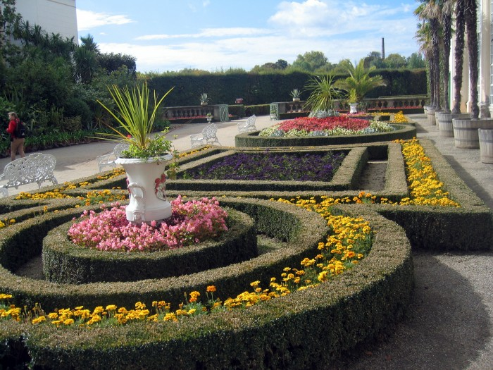 Ogród Kwiatowy - wg włoskiego stylu renesans.