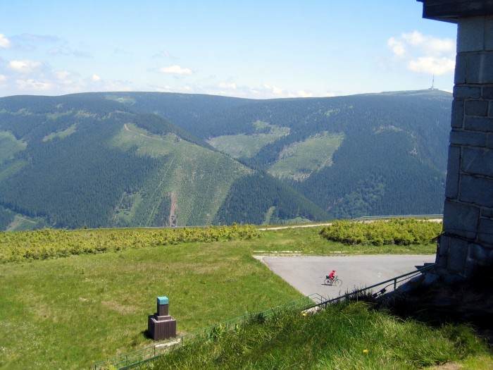 Widok z górnego zbiornika