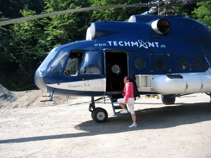 Helikopter Pogotowia Górskiego