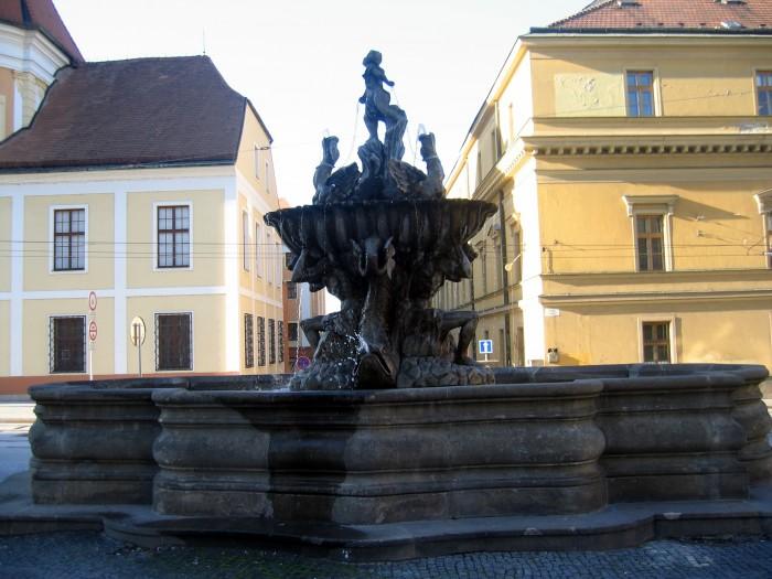 Barokowa fontanna