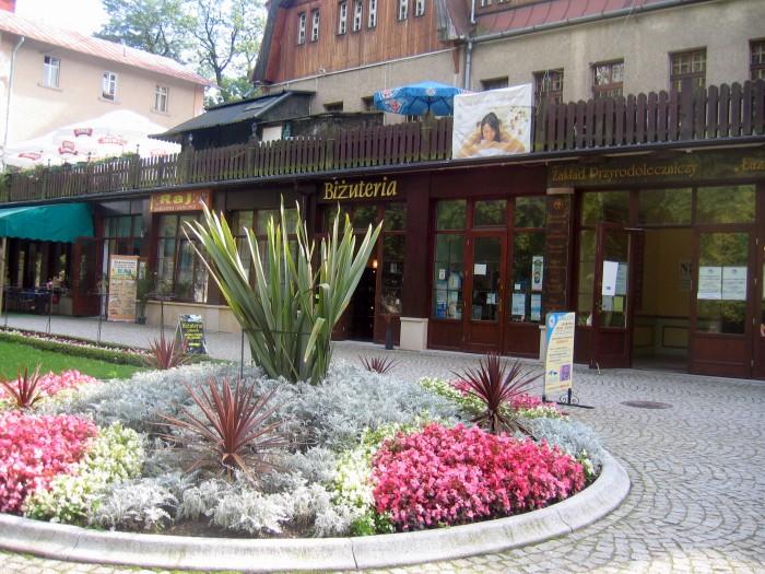 Skwer przy ulicy Zdrojowej
