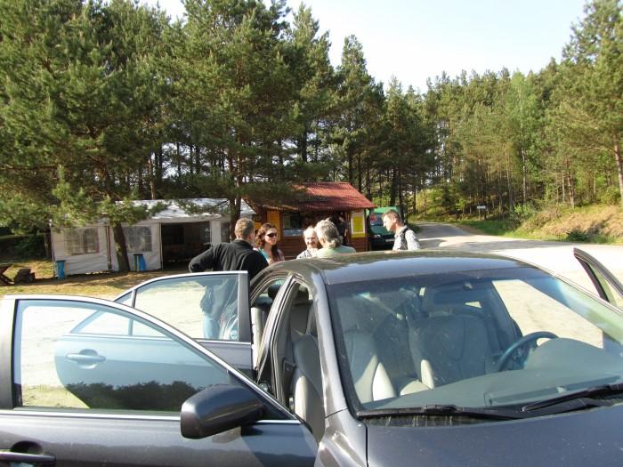 Kamienne Kręgi - parking